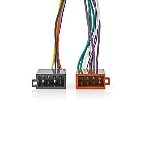 Nedis Kabel ISO Kenwood 16 Pin S Radio-Stecker - 2 Kenwood 16 Pin