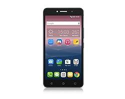 Alcatel Onetouch Pixi 4 Smartphone (15,2 cm (6 Zoll), 960 x 540 Pixel, 8 Megapixel, 8GB, Android) vulkan schwarz