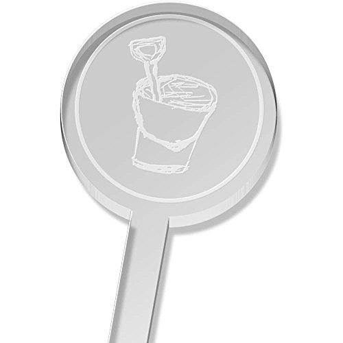 Azeeda 5 x \'Eimer & Spaten\' Groß Trinken Sie Rührer (DS00009641)
