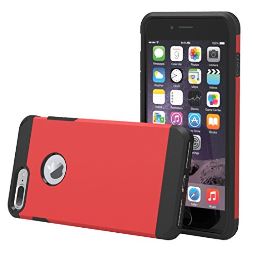 YAN Für iPhone 7 Plus Trennbares Corselet TPU + PC Kombi-Gehäuse, Kleine Menge Empfohlen vor iPhone 7 Plus Starten ( Color : White ) Red