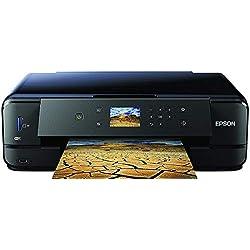 Epson Expression Premium XP-900 3en1 Imprimante Multifonction à Jet d'encre - imprimante DIN A3, Scanner, photocopieur, WiFi, Duplex, Impression sur CD/DVD, Cartouches Individuelles - Noir