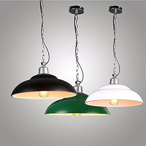 Matcose American-Style estilo retro de Industria Rural candelabros de hierro adecuado para el café verde, pasillo, Hoteles, pasillos, bares, pubs, restaurantes, Restaurantes, pasillos, Entretenimiento