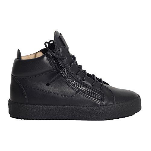 giuseppe-zanotti-design-mujer-rs7012001-negro-cuero-zapatillas-altas