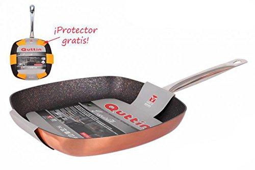 Poêle à griller en 28 cm couleur cuivre Exquisite Quttin