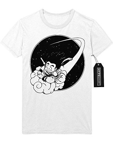 T-Shirt Jindujun Son Goku C112250 Weiß (Vegeta Majin Kostüm)