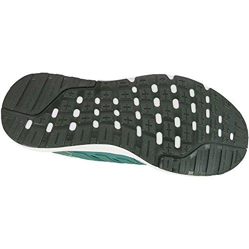 adidas Galaxy 3, Chaussures de Running Entrainement Homme Blanc-Vert-Orange