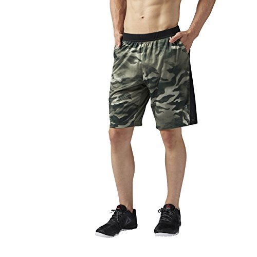 Reebok Knit, Pantaloncino Uomo, Verde (Hungrn),