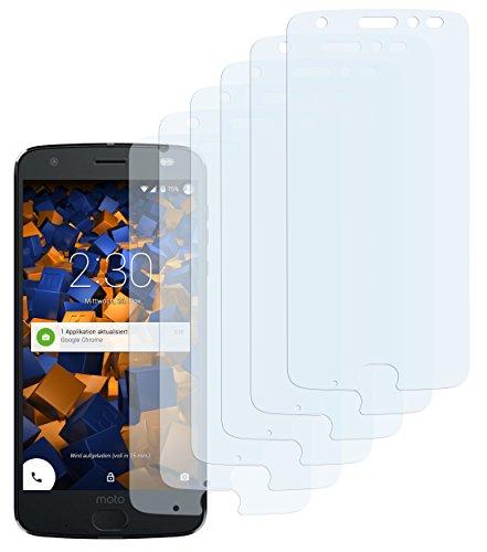 mumbi Schutzfolie kompatibel mit Motorola Moto Z2 Force Folie klar, Bildschirmschutzfolie (6x)