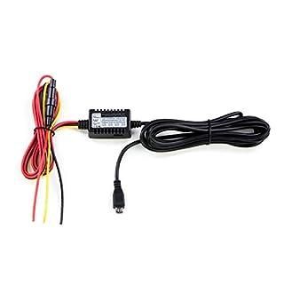 Hardwire Kit Autokamera Ladekabel mit MICRO-USB Stecker mit Netzteil 5V/2A 12/24V Dashcam Batteriewächter Bordnetzkabel Car DVR