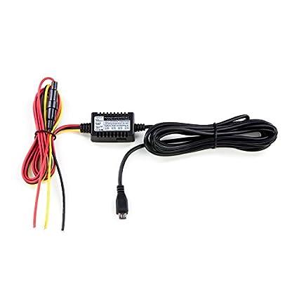 Hardwire-Kit-Autokamera-Ladekabel-mit-MICRO-USB-Stecker-mit-Netzteil-5V2A-1224V-Dashcam-Batteriewchter-Bordnetzkabel-Car-DVR