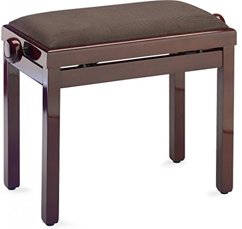 piano-bench-with-brown-velvet-fireproof-top