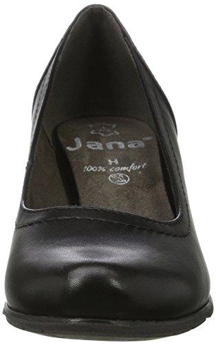 Jana 22404, Scarpe con Tacco Donna Nero (Black)