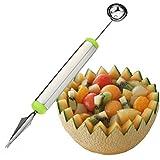 LEORX Herramienta de cocina cuchillo fruta cortar frutas múltiples funciones creativas (Color al azar)