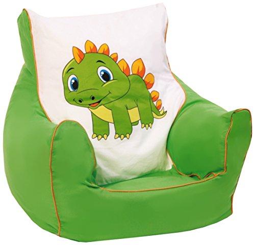 "knorr-baby 450303 Kinder Sitzsack ""Drache"" - grün"