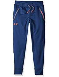 Under Armour Pennant Tapered Pant Pantalones, Niños, Negro (Blackout Navy), YLG