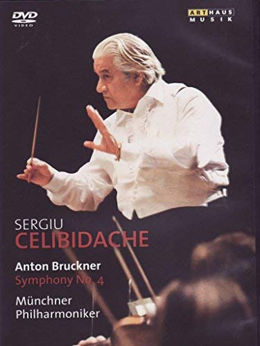 Celibidache Conducts Bruckner: Symphony No. 4 by Celibidache (Celibidache Dvd)