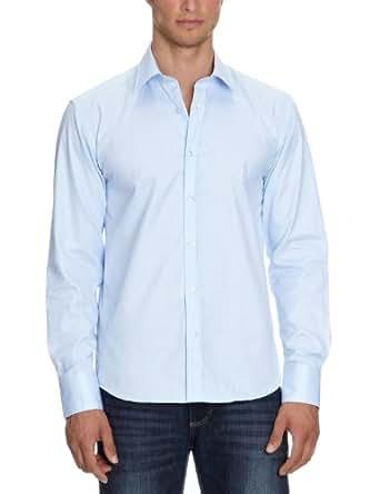 SELECTED HOMME Herren Freizeithemd Slim Fit 16016584 One Pelle Santiago Light Blue, Gr. 54 (XL), Blau (Light Blue)