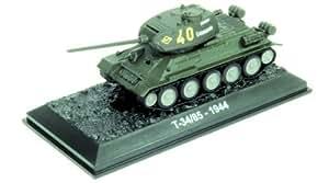 T-34/85 - 1944 tank diecast 1:72 model (Amercom BG-30)