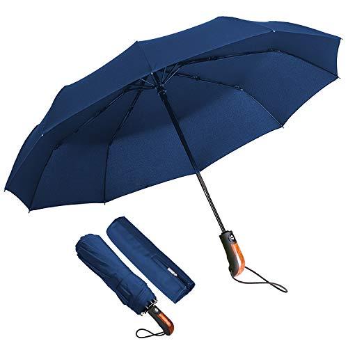 Paraguas Plegable Hombre Paraguas Automático Antiviento