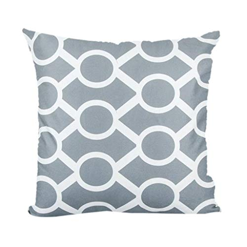 jieGREAT  Kopfkissenbezug Räumungsverkauf,Super Soft Geometric Short Plush Pillowcase Sofa Pad Set...