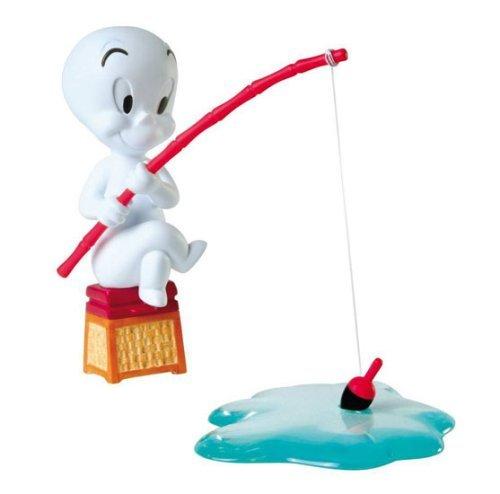 Casper fishing - Statuette résine env 10 cm