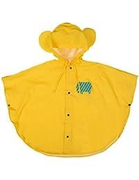 hibote bébé Enfants pluie Poncho Poncho capuche imperméable Taille 80-130cm