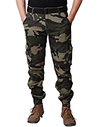 Verticals Stylish and Trendy Army Print Cargo for Men (armyzip5)