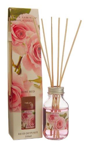 Wax Lyrical 100 ml Reed Diffuser, Rose Bud (Duft Diffuser öl Gardenia)