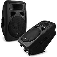 Skytec Coppia di casse acustiche altoparlanti passivi DJ PA (2 x 150 Watt RMS, woofer da 25cm (10