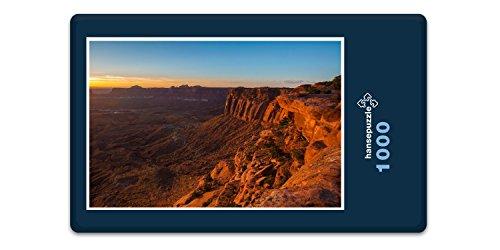 Preisvergleich Produktbild hansepuzzle 19633 Natur - Nationalpark in Utah, 1000 Teile in hochwertiger Kartonbox, Puzzle-Teile in wiederverschliessbarem Beutel