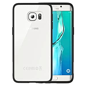 ARAREE Hue Plus Cell Phone Case for Samsung Galaxy S6 Edge+ - Retail Packaging - Black