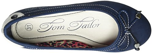 Tom Tailor 2772001, Ballerines fille Bleu nuit