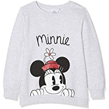Disney Minnie Mouse Minnie Mouse Flower Hat, Sudadera para Niñas