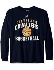 "Memphis Grizzlies Adidas NBA ""Rep Big"" Men's Long Sleeve T-Shirt"