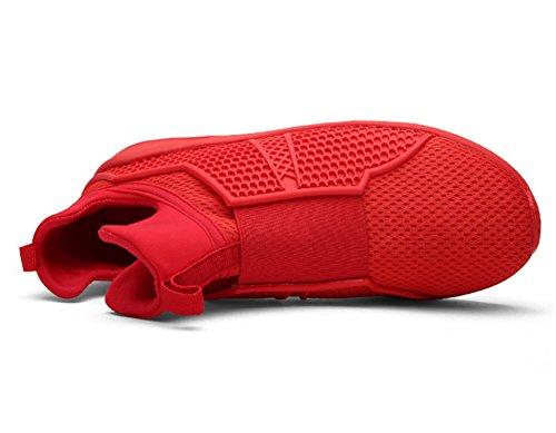 Kn枚chel zhengjun Rot Fashion Fashion Sneakers Riemchen Herren Sneakers Jungen zhengjun Herren 8rOAwBx8