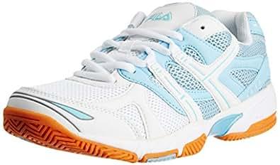 Fila Men's Champion White and Light Blue Tennis Shoes -11 UK/India (45 EU)