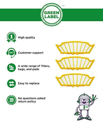 Zoom IMG-1 green label confezione da 3