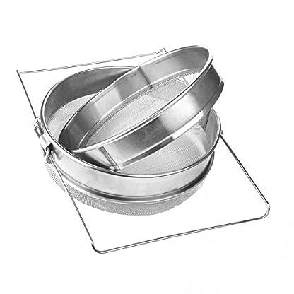Double Honey Strainer Filter 5