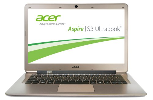 Acer Aspire S3-391-33214G52add 33,8 cm (13,3 Zoll) Ultrabook (Intel Core i3 3217U, 1,8GHz, 4GB RAM, 500GB HDD, 20GB SSD, Intel HD, Win 8) (Acer S3-391)