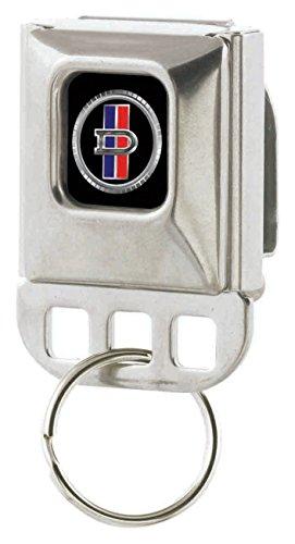 Datsun Automarke Company Metallic Flagge Logo Schlüssel Halter (Automobil-logo-flag)