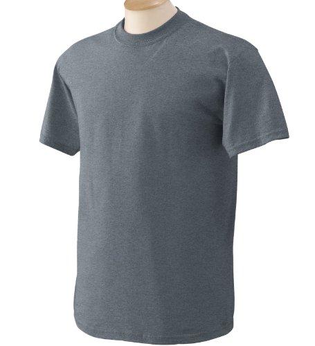 Gildan - Heavy Cotton - Maglietta Manica Corta - Uomo US Small,Charcoal