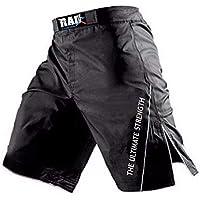 Pantalones cortos MMA para lucha, boxeo, artes marciales, kick boxing, muay thai, de Rad , Large