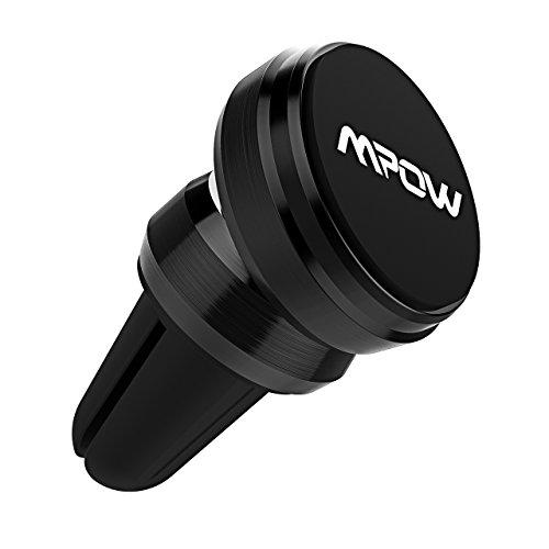 Auto-vent-mount-cd (MPOW MCM8B-DEAE1 Grip Magie Air Vent Magnetisch Universal KFZ Halterung/Hülle für Apple iPhone 6/6S schwarz)
