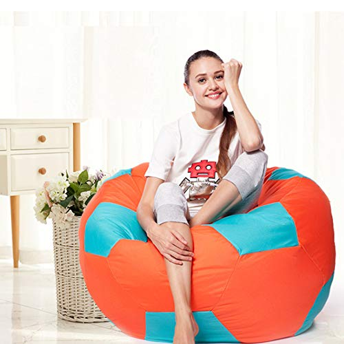 JKYQ Wasserresistente Beanbag Hight Back Beanbag Chair Can Bear 150KG World Cup Soccer for Adult...