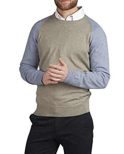 tmlewin-pull-uni-manches-longues-homme-multicolore-xx-large