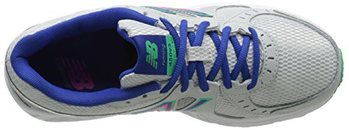 New Balance Women's W450 Running Shoe, Vital Green/Concrete, 5 B US Vital Green/Concrete