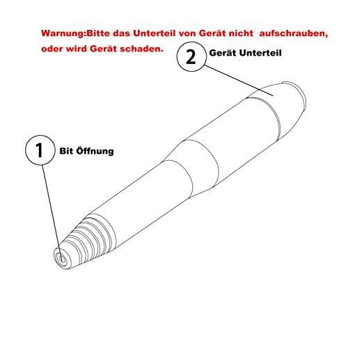 Profi Nagelfräser Maniküre Pediküre Negelpflege Elektrische Nagel Feile Metall Maschine PINK - 8