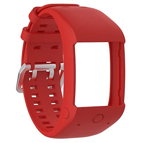 XIHAMA Gurt für Polar M600Sport Uhr, Silikon Ersatz Band Fitness Armband