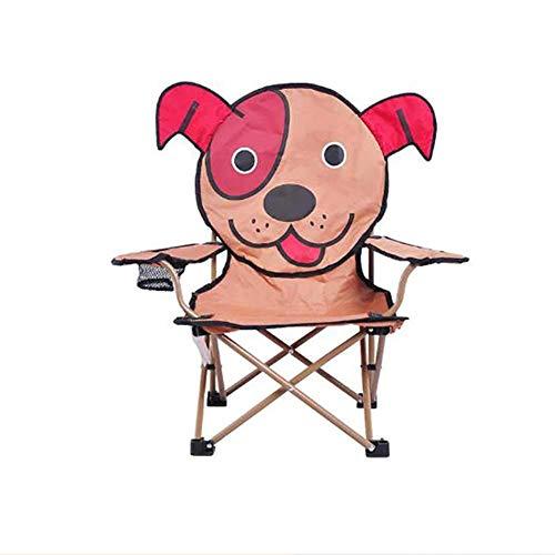 DTTN Freier Kinder-Campingstühle, kompakt und leicht tragbare Falten Fischen-Stuhl geeignet für Strand Barbecue, B