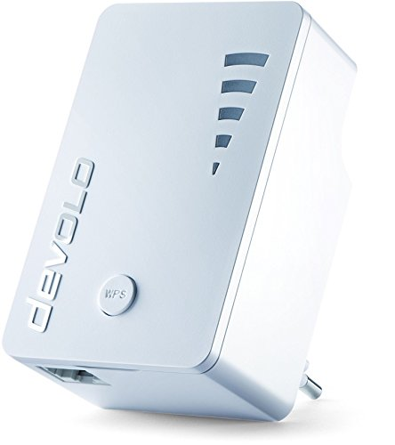 devolo WiFi Repeater ac (1200 Mbit/s, 1x Gigabit Ethernet LAN Port, WPS,...